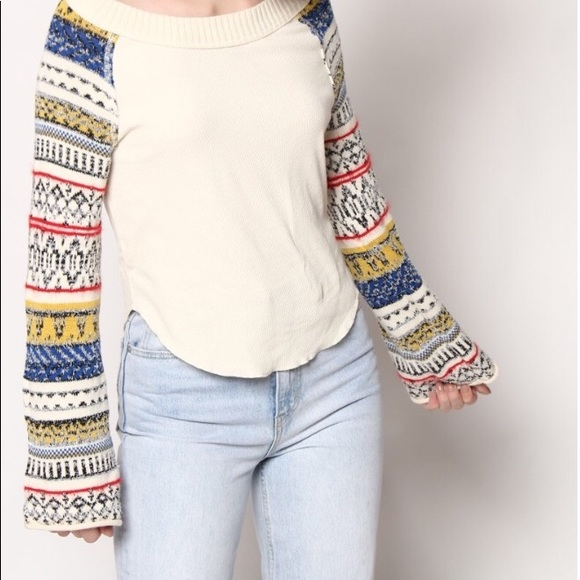 a92608e6 Free People Tops | Nwt Fairground Thermal Top | Poshmark
